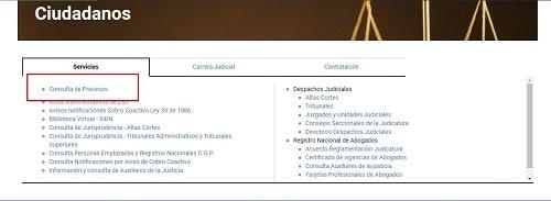 pasos para los procesos de consulta en linea de tyba